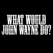 Amazon Com What Would Wayne Do 8 Vinyl Sticker Car Decal 8 White Automotive