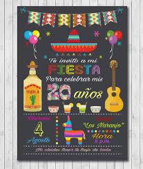 Fiesta Invitaciones Mexicanas Fiesta Invitaciones De Fiesta