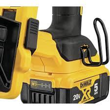 Dewalt Dcfs950p2 20v Max Xr Brushless 9 Gauge Fencing Stapler 5 0ah Kit