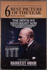 Darkest Hour (2017) Original U.S. One-Sheet Movie Poster 27x40 Rolled GARY  OLDMAN as Sir Winston Churchill Film directed by JOE WRIGHT at Amazon's  Entertainment Collectibles Store