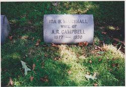 Ida Butler Marshall Campbell (1877-1930) - Find A Grave Memorial