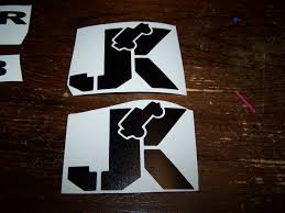 Jk Jeep Vinyl Sticker Decal Wrangler Jk Jku Set Of 2