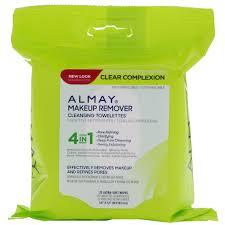 almay clear plexion makeup remover