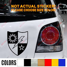 75th Ranger Regiment Car Decal Sticker Army Ranger Army Vinyl Pick Size Color No Background Car Stickers Aliexpress