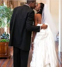 LaToya Pringle & Byron Sanders. | Love and basketball, Wedding dresses,  Fashion