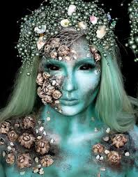 mermaid makeup ideas for this
