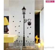 Road Lamp Wall Art Decal Sticker Zebra Cute Cat Road Light Wallpaper Decor Home Decoration Sticker Wall Art Decal Cheap Wall Stickers For Bedrooms Child Wall Stickers From Magicforwall 2 26 Dhgate Com