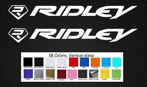 For 2pcs Ridley Bike Decals Sticker Set 2 Dh Mtb Tr Freeride Dirt Car Styling Car Stickers Aliexpress