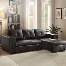 lloyd black pu leather sleeper