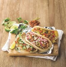 loaded grilled shrimp tacos