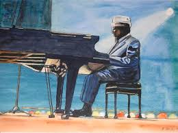 Thelonious Monk Painting by Byron Bailey