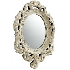 ornate parisian style wall mirror