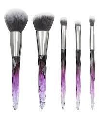 vanmeily 5 pc purple gray crystal
