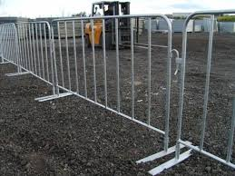 Metal Safety Galvanized Metal Crowd Control Barrier Security Event Concert Pedestrian Barricade Buy Safety Barrier Security Barrier Metal Barriers Product On Alibaba Com