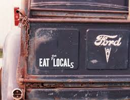 Zombie Sticker Eat The Locals Car Decal Also Halloween Etsy