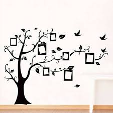 photo frame tree family quote branches wall decal wall stickers