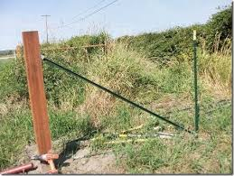 Using Wedge Loc Brackets For Fence Braces The Collie Farm Blog
