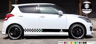 Sticker Stripe Kit For Suzuki Swift Sport Light Gear Shift Xenon Skirts Spoiler Suzuki Swift Sport Suzuki Swift Stripe Kit