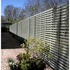 Garden Screening Panel 25mm Gap Painted Finish