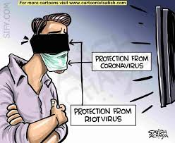 Virus! #CoronaVirus #DelhiRiots Sify cartoon - Cartoonist Satish ...