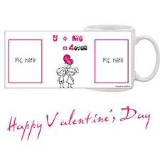 fall in love photo mug valentine day