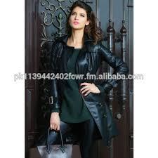 slim fit women stylish faux leather