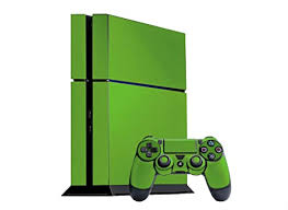 Amazon Com Monster Green Vinyl Decal Faceplate Mod Skin Kit For Sony Playstation 4 Ps4 Console By System Skins Video Games