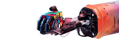 solving rubik s cube with a robot hand