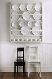 plate rack wall