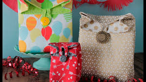 fabric gift bag show me how you