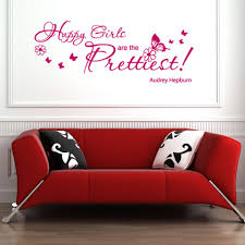 Happy Girls Wall Decal Quote Style And Apply