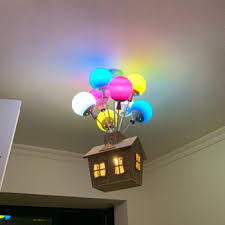 Super Promo 717294 Balloon Lamp Kids Room Chandeliers For Bedroom Children Room Multi Color Chandelier Indoor Home Birthday Holiday Decor Pendant L Cicig Co