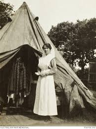 SISTER ADA SMITH OF THE 2ND AUSTRALIAN CASUALTY CLEARING STATION ...