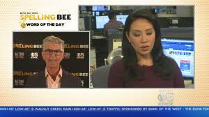 Spelling Bee Challenge: KPIX 5 anchor Veronica De La Cruz takes the  Spelling Bee challenge - YouTube