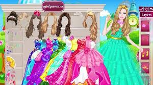 barbie and princess dress up games
