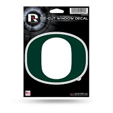 Oregon Ducks 5 X 4 Die Cut Decal Window Car Or Laptop New Hub City Sports