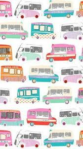 Pin by Addie Fisher on fondos de pantalla | Ice cream van, Prints, Pattern  art