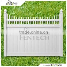 Privacy Semi Privacy Fence Buy Fentech White Picket Top Vinyl Privacy Pvc Fence With Cheap Fence Panels On China Suppliers Mobile 142382618
