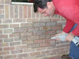 how to grout interior brick veneer