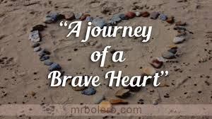 tagalog love quotes a journey of a brave heart