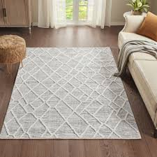 Shop Madison Park Abigail Gray/ Cream Terni Pebble Indoor Area Rug -  Overstock - 31677507