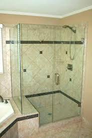 half glass shower door for bathtub bath