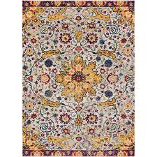 oriental rug traditional yellow com