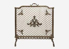 maitland smith bronze fireplace screen