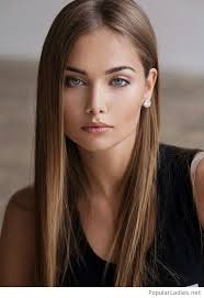 beautiful makeup and earrings