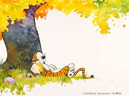 calvin and hobbes ics autumn mood g