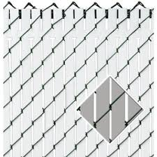 6 Ft H X 0 1 In L 78 Pack Brown Chain Link Fence Privacy Slat In The Chain Link Fence Slats Department At Lowes Com