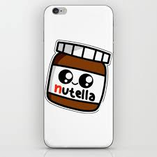 Nutell Nutel A Chocolate New Choco Coco Sticker Stickers Art New Fun Delicious Cute Hot 2018 Iphone Skin By Abllo Society6