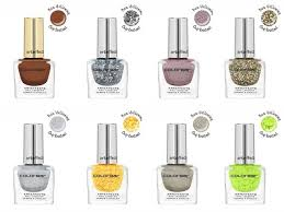 new colorbar arteffects nail lacquer