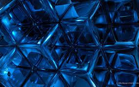 Blue 3d Wallpapers Wallpaper Cave